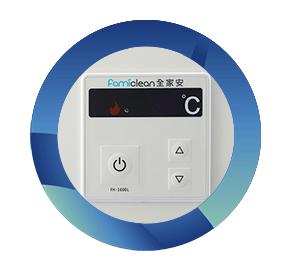 熱水器全家安防水控制面板