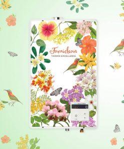 數位恆溫熱水器 FH-1600L-2019鳥語花香限量款
